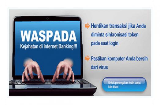 Cara Aman Transaksi Via layanan Mandiri Internet Banking