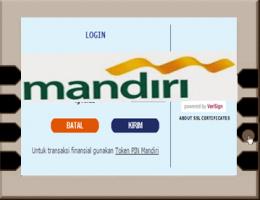 Cara Daftar dan Aktivasi Internet Banking Mandiri Via ATM