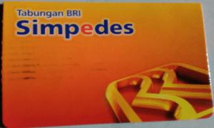 Produk Tabungan simpedes BRI