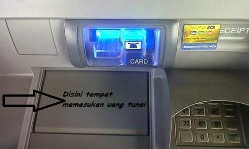 Cara Setor Tunai BCA Ke Rekening Bank Melalui Mesin ATM