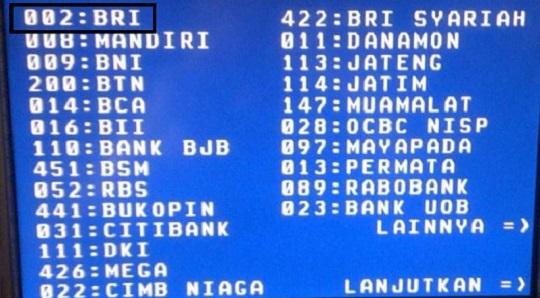 Kode Bank Bri Simpedes Untuk Transfer Ke Bank Lain Zonkeu