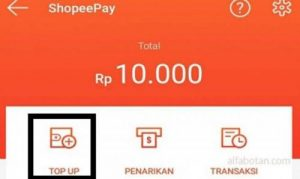 Langkah-langkah Cara Isi Top Up ShopeePay lewat ATM BRI