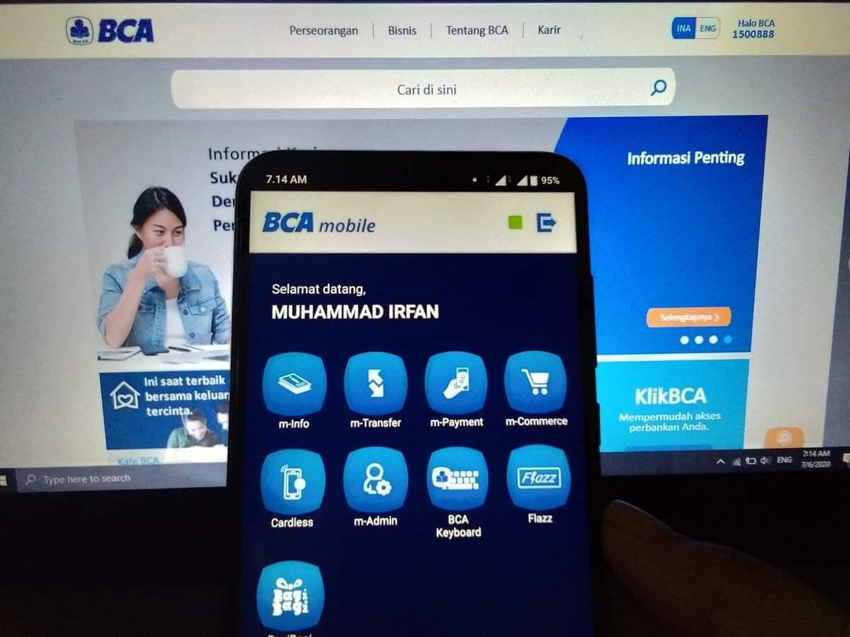 Cara Transfer M Banking BCA Ke Sesama